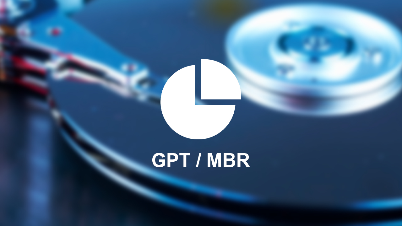 difference between gpt and mbr partition